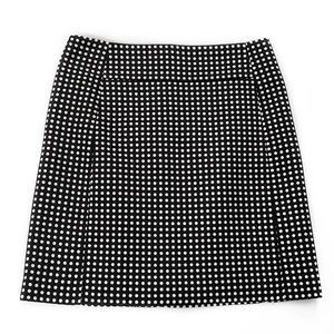 Loft • Polka Dot Pencil Skirt